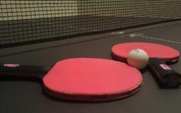 Pourquoi la raquette de Ping-pong est rouge et noir ?